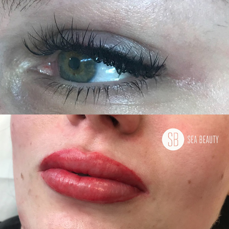 Eyeliner Tattoo and Lip Tattoo | Book now with Sea Beauty North Beach