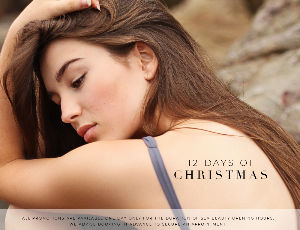 12 Days of Christmas Specials at Sea Beauty North Beach